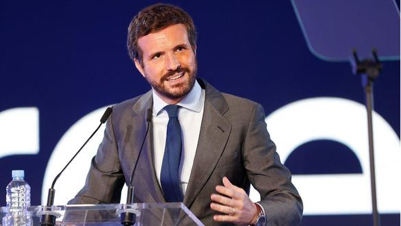 Aclaración de Casado: 'El único responsable de los indultos es Sánchez'