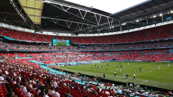 La final de Wembley podrá albergar hasta 45.000 espectadores