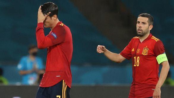 España se estrena en la Eurocopa con un inquietante empate ante Suecia   0-0