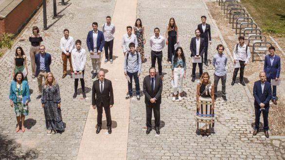 La UC3M, Santander y Airbus entregan más de 190.000 euros en premios a la investigación y el emprendimiento