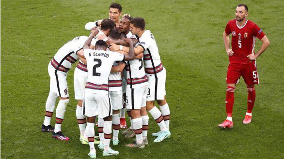 Noventa segundos catastróficos fulminan el sueño húngaro ante Portugal  0-3