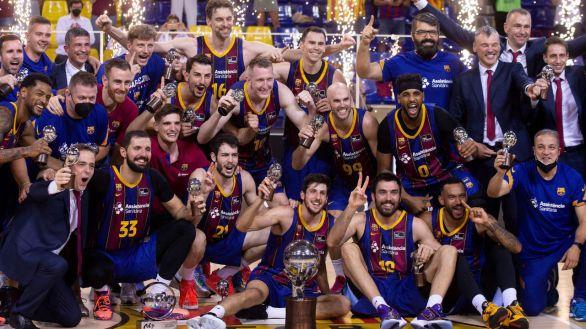 Un Barcelona intratable conquista su 19º título ACB