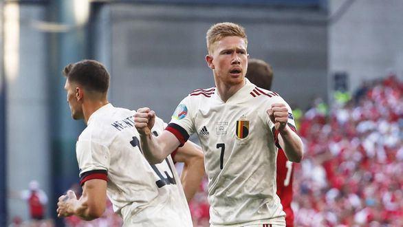 Eriksen impulsa a Dinamarca pero Bélgica gana | 1-2