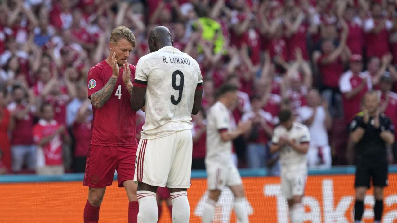 Homenaje a Eriksen, brillo de Bélgica y sonrisa de Ucrania