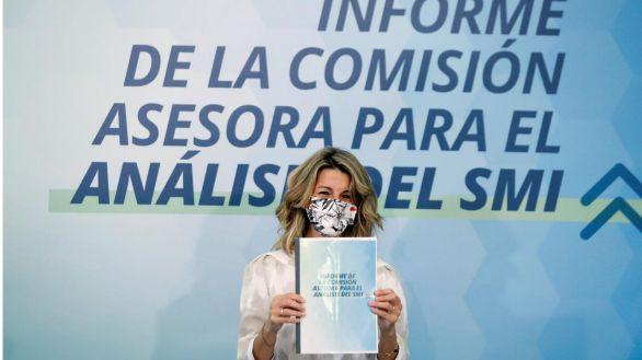 Díaz se sirve de un informe para tratar de imponerse a Calviño y subir el SMI