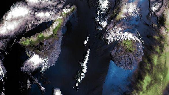 Las primeras imágenes de Canarias tomadas desde el espacio con la cámara DRAGO