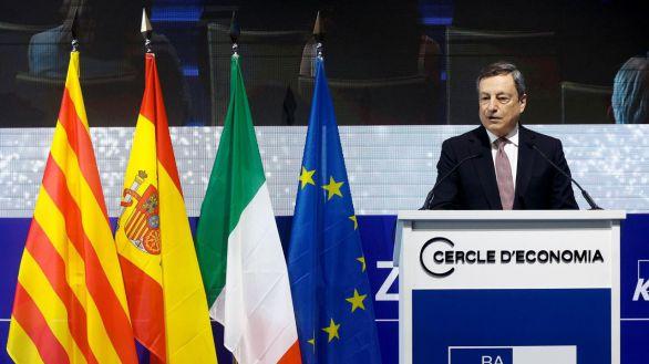 Draghi recibe el primer premio a la Construcción Europea del Círculo de Economía