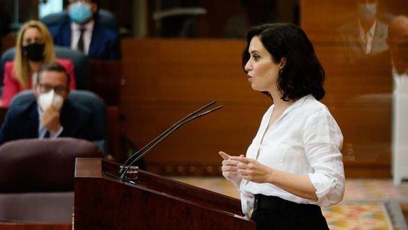 Así les hemos contado la segunda sesión de investidura de Isabel Díaz Ayuso