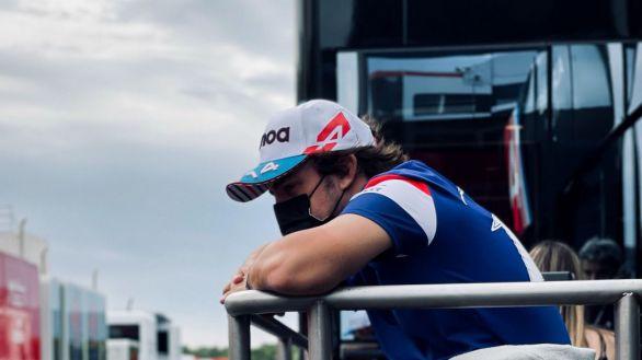 Fórmula Uno. Las imágenes de Fernando Alonso que devuelven la ilusión