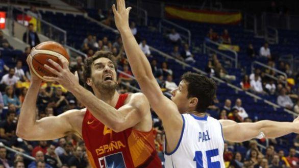 Gasol y Garuba, novedades en la lista de España para Tokio