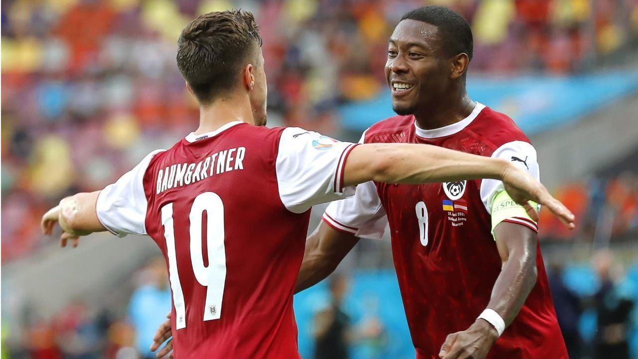 Austria hace historia tras imponerse a la favorita Ucrania |0-1