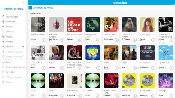 Así es Movistar Música, un nuevo servicio de música en streaming