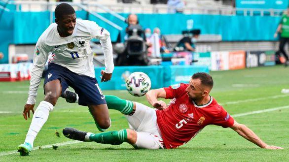 Dembelé, cuatro meses de baja tras caer lesionado en la Eurocopa