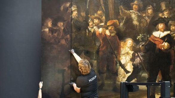 La inteligencia artificial, clave para completar La ronda de noche de Rembrandt