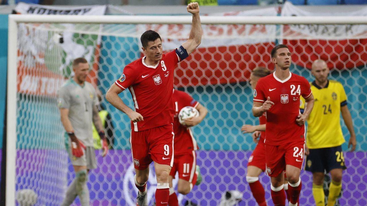 Suecia evita la remontada de un Lewandowski estelar |3-2