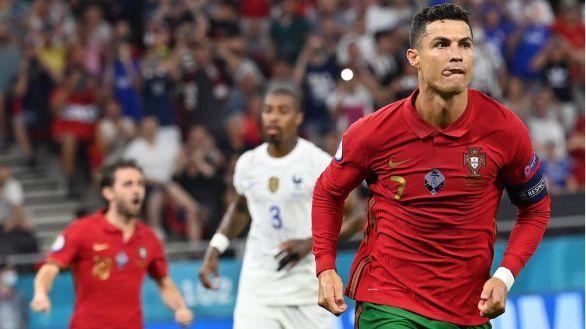 Benzema y Cristiano firman tablas para Francia y Portugal  2-2