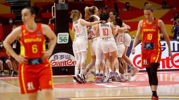 Eurobasket. Serbia deja a España sin la lucha por las medallas en la prórroga  71-64