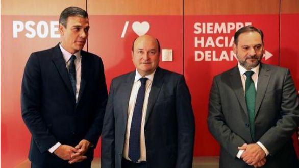El PNV reafirma su apoyo a Sánchez y confía en cambiar el modelo de Estado