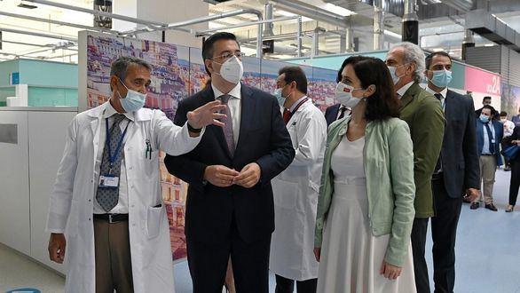 Madrid vacunará contra el coronavirus en el Hospital Zendal las 24 horas del día desde el lunes