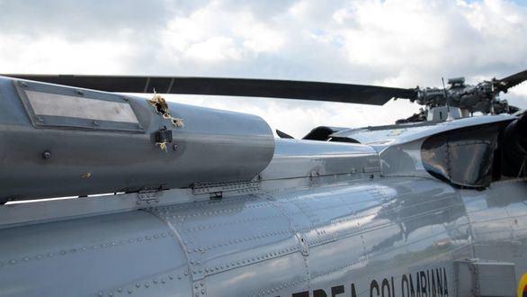 Duque sale ileso de un atentado contra el helicóptero presidencial
