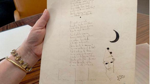 Vendido en París por 48.000 euros un singular manuscrito de Lorca