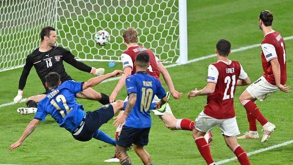 Austria baja de la nube a Italia pero cae en la prórroga | 2-1