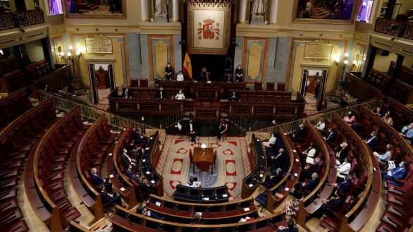 Un Congreso semivacío con Bildu y sin la AVT homenajea a las víctimas del terrorismo