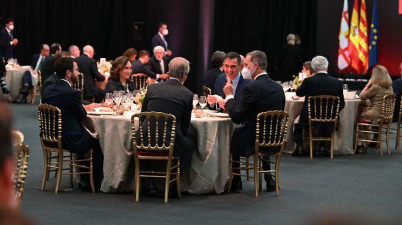 El Rey preside la inauguración del MWC en Barcelona