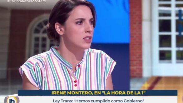 Montero defiende la 'Ley Trans':