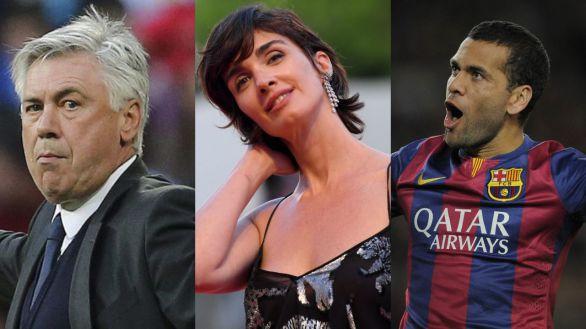 Ancelotti, Paz Vega o Dani Alves, en la lista de morosos de la Agencia Tributaria