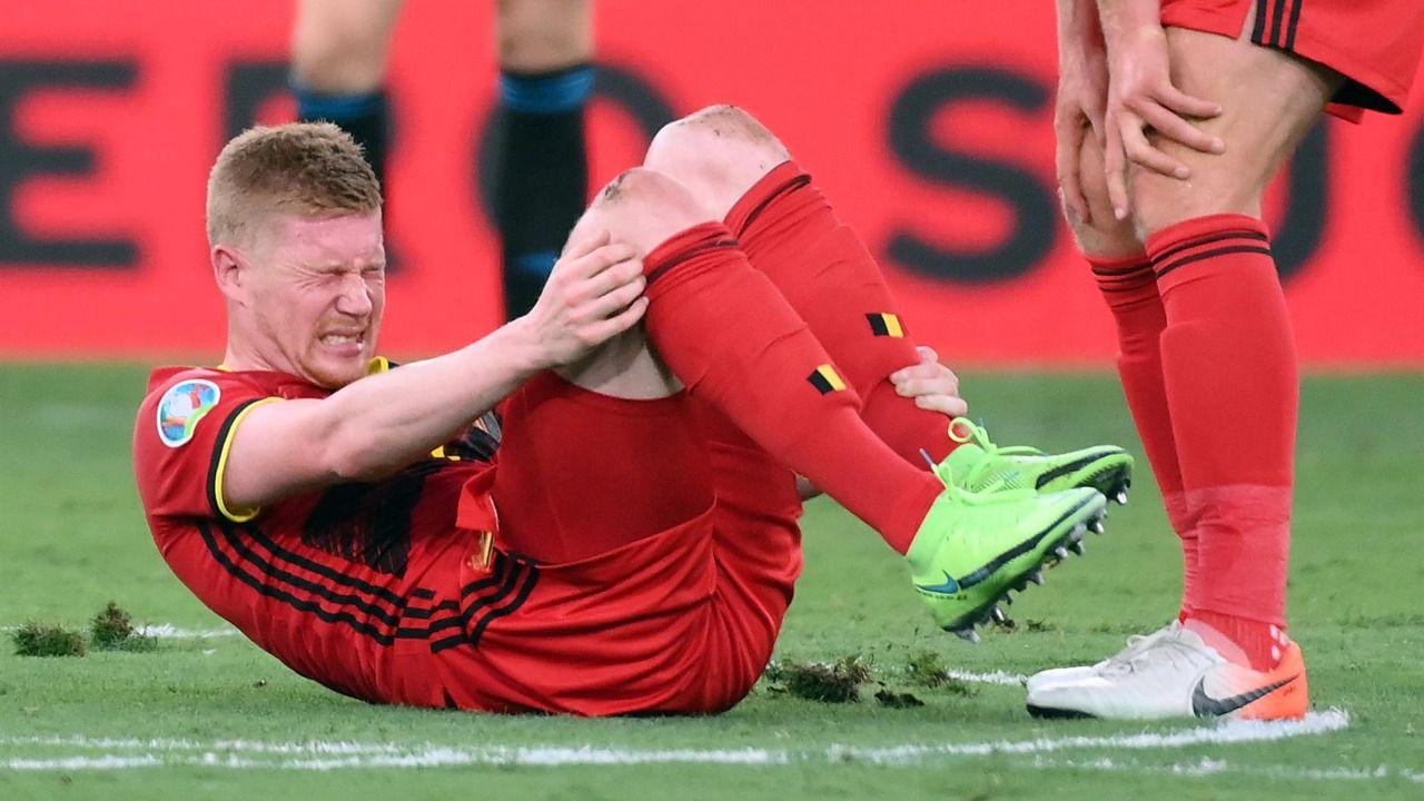 Hazard y De Bruyne, 'muy difícil' que lleguen para el partido ante Italia