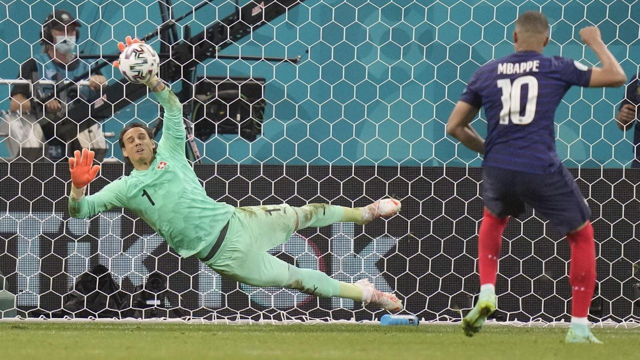 Bombazo de la Eurocopa: Suiza elimina a Francia en los penaltis |3-3