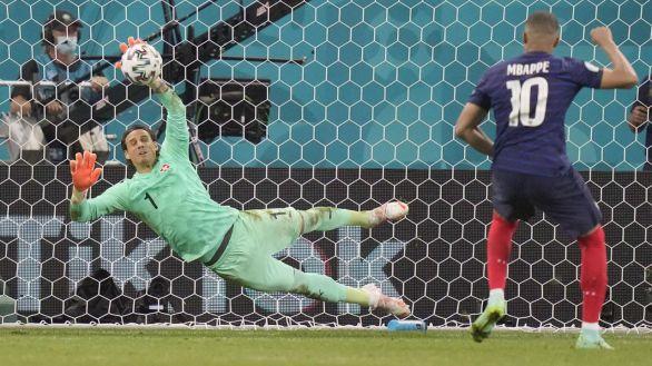 Bombazo de la Eurocopa: Suiza elimina a Francia en los penaltis  3-3