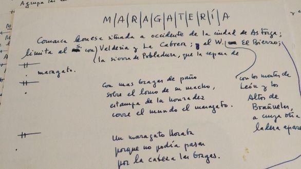 Madrid protege los manuscritos de la magna obra inacabada de Camilo José Cela