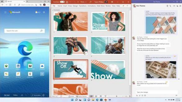 Así es Windows 11: menú de inicio en el centro y permite apps de Android