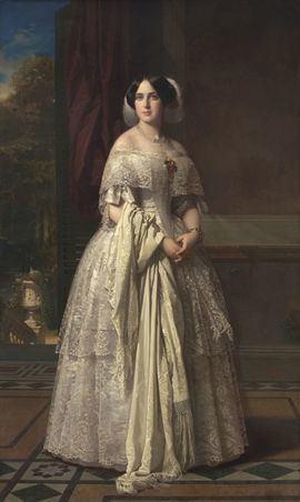 Josefa del Águila Ceballos. Óleo sobre lienzo, 220 x 130 cm - 1852. Donación de Alicia Koplowitz, 2018