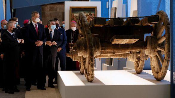 Felipe VI inaugura la nueva exposición de Las Edades del Hombre en Burgos