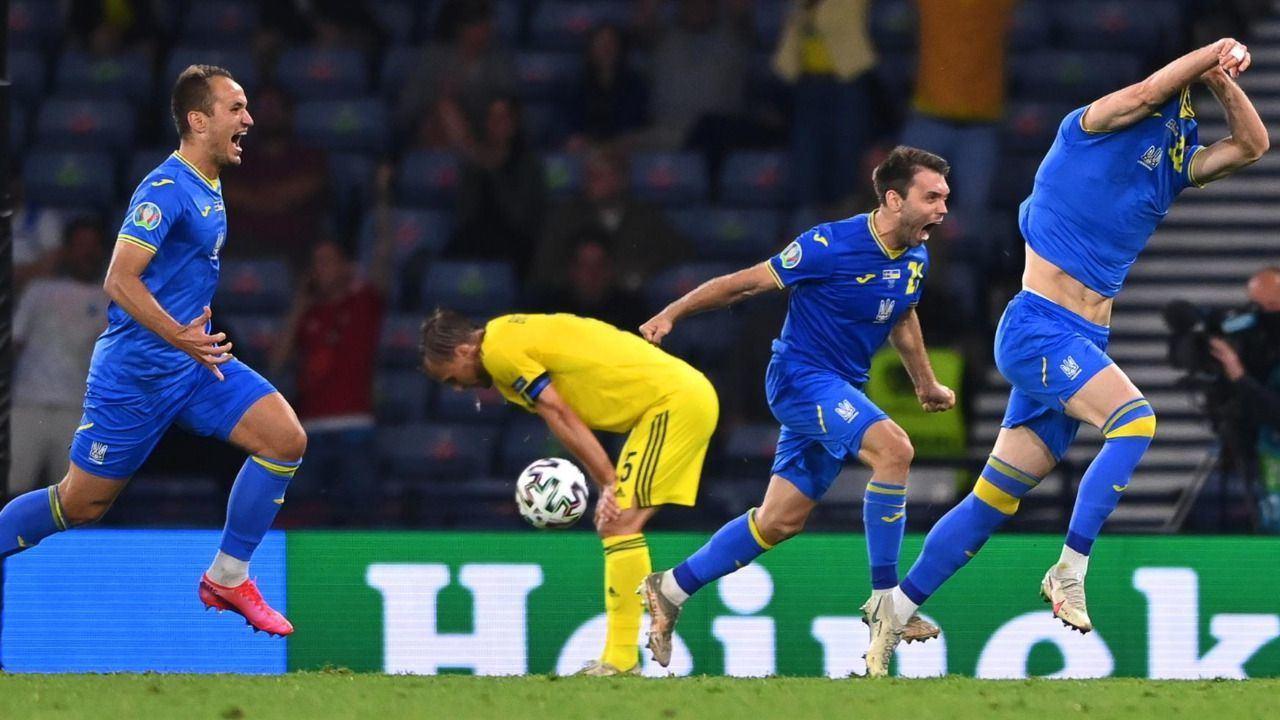 Un gol en el descuento de la prórroga mete a Ucrania en cuartos de final |1-2