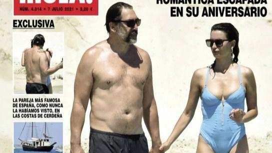Amelia Bono y Manuel Martos se separan tras trece años de matrimonio