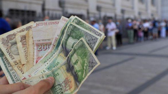 Este miércoles concluye el plazo para cambiar pesetas a euros