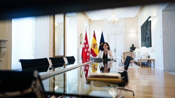 Ayuso defiende ante la UE el modelo de libertad educativa de Madrid
