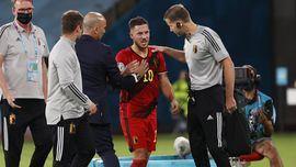 Hazard y De Bruyne, ausentes del último entrenamiento belga antes de Italia