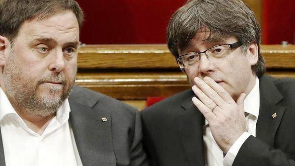 Junqueras y Puigdemont se reunirán el miércoles en Waterloo