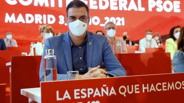 Sánchez alardea de que los indultos favorecerán al PSOE