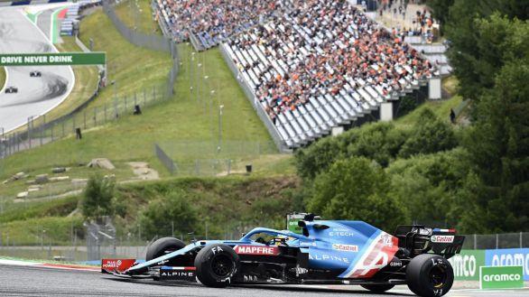 GP de Austria. Fernando Alonso, fuera del Top-10 por culpa de Vettel y estalla contra él