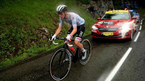 Tour de Francia. Pogacar, con 22 años, ya apunta al trono de Induráin, Merckx, Hinault y Anquetil