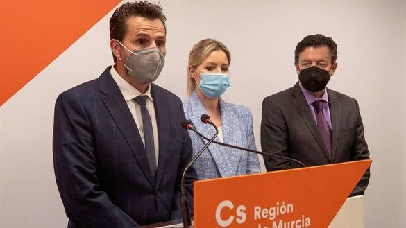 La líder de Cs en Murcia que encabezó la moción de censura deja su cargo