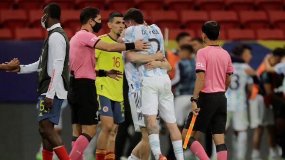 Copa América. Messi y Argentina llegan a la final con escándalo arbitral | 1-1
