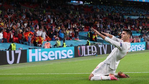 España se despide de la Eurocopa con la cabeza bien alta ante Italia