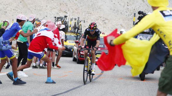 Tour de Francia. El Ventoux agiganta a Van Aert y da los primeros sudores a Pogacar